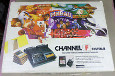 Fairchild Channel F System II - UNTESTED - w/ hookups, paperwork, game, controls