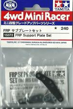TAMIYA ACCESSORI MINI 4WD SUPPORTI ESTERNI ROTELLE FRP SUPPORT PLATE ART 15372