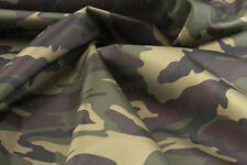 Waterproof 4oz Army Camouflage fishing camping hideout tent cover material 5mt G