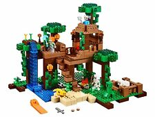 LEGO MINECRAFT THE JUNGLE TREE HOUSE 21125 BRAND NEW IN BOX