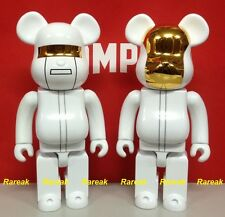 Medicom Be@rbrick 2016 Daft Punk 400% RAM White Suits ver. Bearbrick set 2pcs