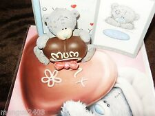 BOXED ME TO YOU FIGURINE FOR MY SPECIAL MUM LARGE CHOCOLATE HEART MATCHING CARD