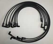 Small Block Chevy1955-89 305,327,350,400 HEI BLACK Spark PLug Wires under Exhaus
