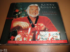 KENNY ROGERS cd CHRISTMAS in AMERICA winter wonderland Joy To World Silent Night