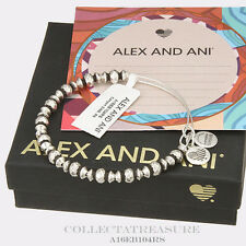 Authentic Alex and Ani Canyon Rafaelian Silver Bangle
