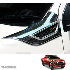 Fitt Chrome Side Vent Side Door Cover For Dmax Isuzu Ute D-Max Holden 2012-2015