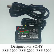 SONY OEM OFFICIAL PSP AC Adapter Charger Cord PSP-1000 PSP-2000 PSP-3000 NEW