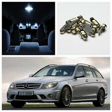 11x LED Interior Lights No Error Kit For Mercedes Benz W204 C-Class 2008-2012