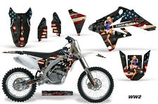 Suzuki Graphic Kit AMR Racing Bike Decal RMZ 250 Decal MX Part 07-09 WW2 BOMBER