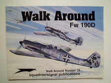 Walk Around  number 10 Fw 190D , Modellbau !!!