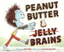 PEANUT BUTTER AND Jelly BRAINS Joe McGee (2015) childrens picture book Halloween