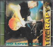 "THERAPY ? - RARO CD ITALY ONLY 1994 "" NO LOVE LOST """