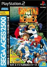 Used PS2 Sega Ages Vol. 25: Gunstar Heroes SONY PLAYSTATION 2 JAPAN IMPORT