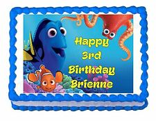 Finding Dory Party Edible image Cake topper decoration - personalized free!
