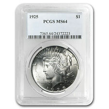 1925 Peace Silver Dollar - MS-64 PCGS - SKU #24829