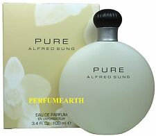 Pure Alfred Sung 3.3/3.4oz. Edp Spray For Women New In Box