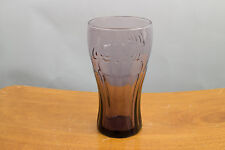 Coca-Cola Glasses from McDonalds - 16 Ounce - Purple Toned