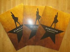 NEW Hamilton Broadway Musical OFFICIAL PROGRAM BOOK FAST SHIP ORIGINAL OBC CAST