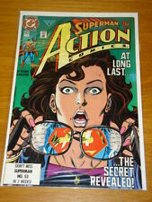 ACTION COMICS #662 NEAR MINT SUPERMAN IDENTITY REVEALED FEBRUARY 1991