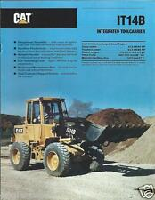 Equipment Brochure - Caterpillar - IT14B - Integrated Tool Carrier 1990 (E219)