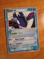 NM KYOGRE EX Pokemon PROMO Card 037 Rare Nintendo Black Star Set Collector Tin