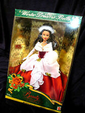 BARBIE style collectors BEAUTY AND THE BEAST 1998 doll WINTER DREAMS BELLE