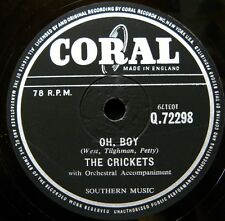 0482/ BUDDY HOLLY and the Crickets-Oh Boy-Not fade away-R´n`R-Schellack