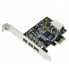 Syba SY-PEX30016 2 Port Firewire 1394B and 1 Port 1394A PCI-e 1.1 x1 Card