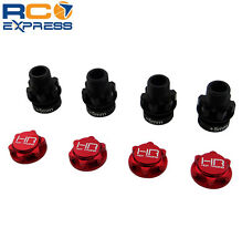 Hot Racing Arrma Nero Fazon Big Rock 17mm Aluminum Wheel Hex Adapters NRO10W02