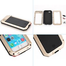 Waterproof Shockproof Aluminum Gorilla Metal Cover Case For Apple iPhone 4/4S