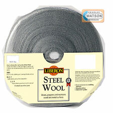 LIBERON 1kg 0000 ULTRA FINE GRADE STEEL WIRE WOOL High Quality Crumble Resistant