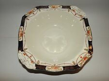 1920 30's SQUARE BOWL HARMONY SOLWAY by Alfred Meakin GREAT CONDITION 22CM