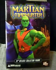 "DC Comics Martian Manhunter 13 "" Deluxe Boxed Action Figure Doll 1:6 Scale New ."