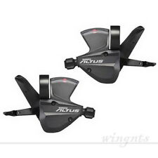 Shimano Altus M370 9 Speed Shifter Trigger Set SL-M370 3X9 27s with inner Cable