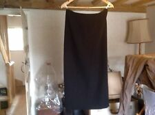 Black formal minuet skirt size 12 long with buttons