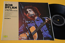 BOB DYLAN LP A RARE BATCH OF LITTLE WHITE WONDER ORIG ITALY 1975 EX+