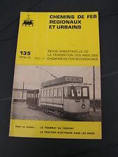 Chemins de fer secondaires 135 1976 Le Tréport Chatillon Commentry Piennes Sancy