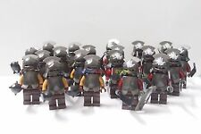 New Lord of the Rings Minifigures 10 x Uruk-Hai & 10 x Mordor Orc Custom Brand