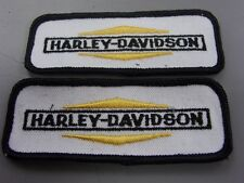 Pair NOS Vintage Harley Davidson Motorcycle Patch 1960's Chopper Shovelhead AMF