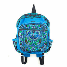 Ethnic Backpack Hmong Hill Tribe Embroidered Thai Boho Hippie Bags Fair Trade