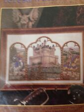 RARE Teresa Wentzler Fantasy Triptych counted X stitch KIT, sealed # 42561