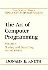 The Art of Computer Programming: Volume 3: Sorting and Searching (2nd Edition),