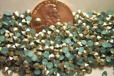 72pc Swarovski Pacific Opal PP19 19PP 1028 Point Back Silver Foil 2.5mm - 2.6mm