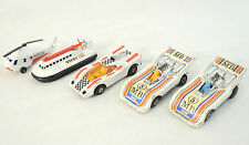 Lot of 3 Vintage MatchBox Cars MB #5, HoverCraft & Rescue Helicopter