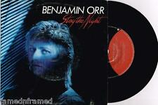 "BENJAMIN ORR (THE CARS) - STAY THE NIGHT - RARE 7"" 45 VINYL RECORD w PICT SLV"