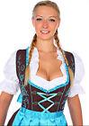 1192 - 3 pc Dirndl Dress Trachten Oktoberfest 4,6,8,10,12,14,16,18,20,22