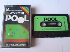 POOL - CDS MICRO SYSTEMS - ZX SPECTRUM 16K/48K