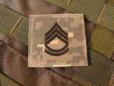 Galons velcro US - SERGEANT 1ST CLASS - grade scratch ACU DIGITAL rank insignia