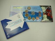 *** euro Slovacchia KMS 2010 BU OLIMPIADI VANCOUVER Slovakia Coin Set ***