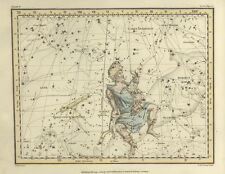 Star chart, constellation, ancient maps old, map print poster, gift for him